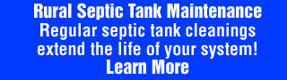 Rural Septic Tank Maintenance