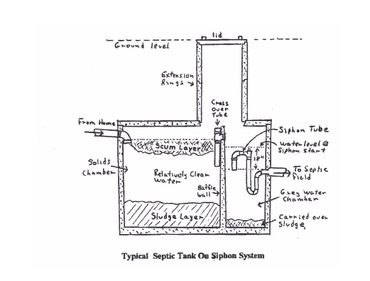 septic siphon system